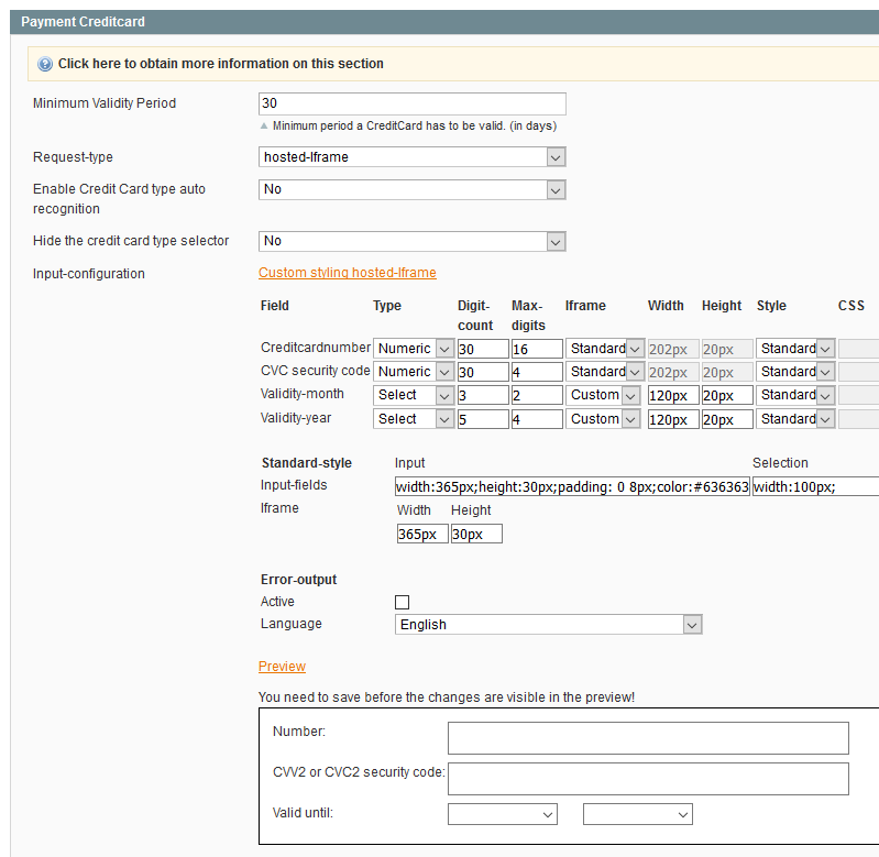 Magento 1 Extension - Integrations - BS PAYONE docs